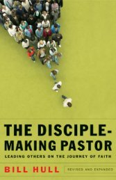 Hull_DiscipleMaking_JM_bb.indd - Baker Publishing Group