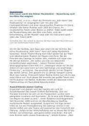 Artikel aus der Internetzeitung Report-K vom 20.04.2009