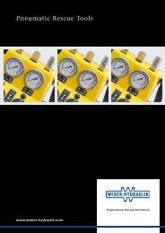 Pneumatic Rescue Tools - Weber-Hydraulik GmbH