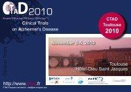 Download the program 2010 - CTAD