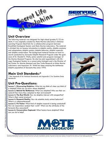 LESSON 2 - SeaTrek Programs