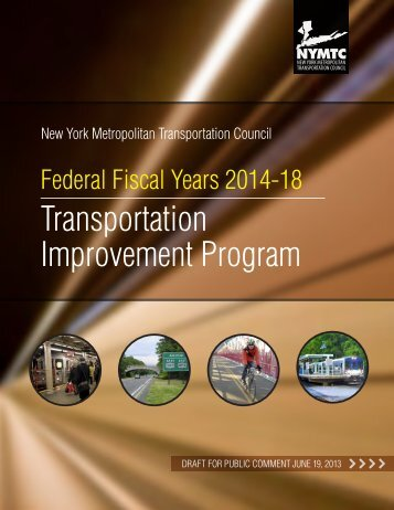 Draft FFY 2014-2018 Transportation Improvement Program