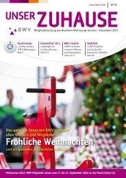 UNSER - BWV Beamten-Wohnungs-Verein zu Hildesheim eG