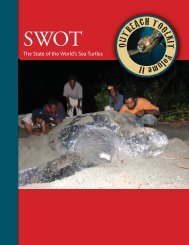 SWOT Outreach Toolkit - The State of the World's Sea Turtles