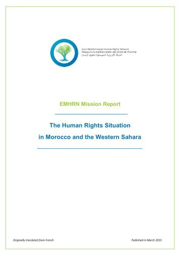 EMHRN-Mission-Report-Morocco-and-the-Western-Sahara1