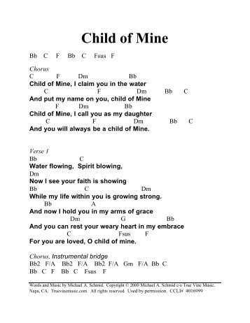 Child of Mine - Christian music 4 Praise And Worship
