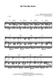 Sheet Music - Christian songs 4 Praise And Worship