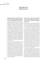 ABSTRACTS - Zeitschrift für Menschenrechte