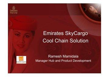 Ramesh Mamidala (Emirates SkyCargo - UAE)