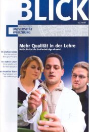 blick - OPUS - Universität Würzburg
