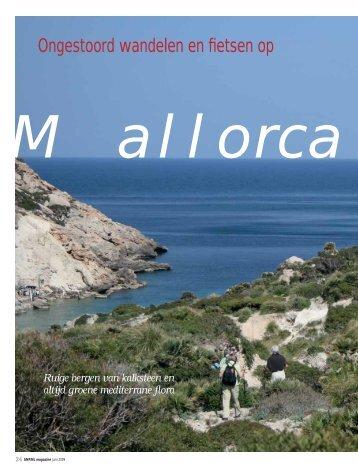 Ongestoord wandelen en fietsen op Mallorca