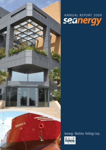 View PDF - Seanergy Maritime Holdings Corp.