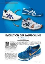 EVOLUTION DER LAUFSCHUHE Eine ... - Laufschuhkauf.de