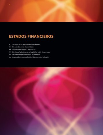 ESTADOS FINANCIEROS - Esmas