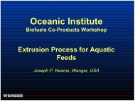 Kearns-Wenger Extruders - Oceanic Institute