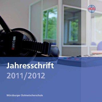 Übersetzer/Dolmetscher FA 1 a - Würzburger Dolmetscherschule