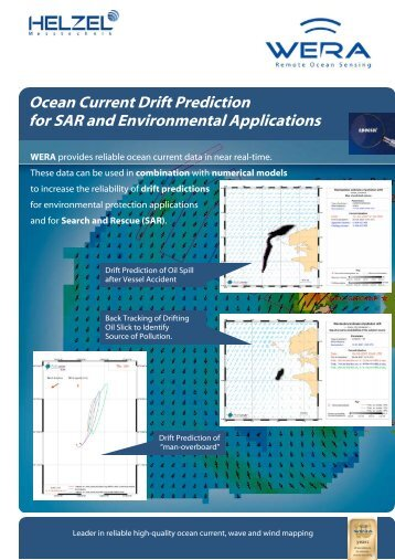 Ocean Current Drift Prediction for SAR and Environmental ...