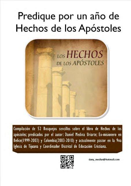 De Los Año Apóstoles Un Por Hechos Predique UpMVLqSzG