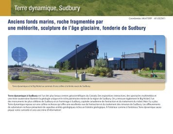 Terre dynamique, Sudbury - Science North
