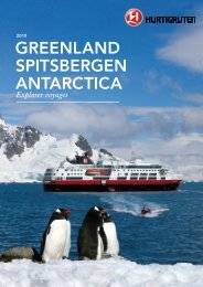 Download Hurtigruten's 2010 Explorer Brochure (pdf) - CruiseNorway