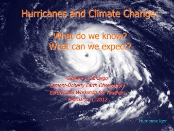 Hurricanes and Climate Change: