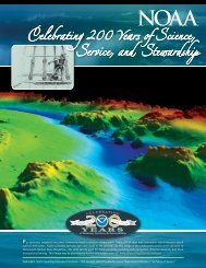 NOAA Celebrating 200 Years of Science, Service, and Stewardship