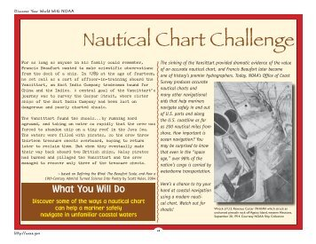 Nautical Chart Challenge - NOAA Celebrates 200 Years of Science ...