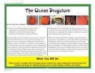 The Ocean Drugstore - NOAA Celebrates 200 Years of Science ...