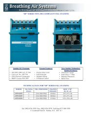 """""""df"""" series nfpa 1901 compliant fill - Breathing Air Systems"""