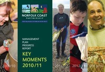 Highlights summary 2010-11 - Norfolk Coast Partnership