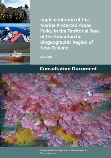 Implementation of the Marine Protected Areas Policy in ... - Biodiversity