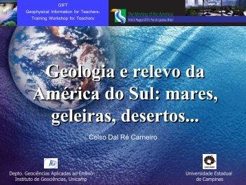 Geologia e relevo da América do Sul