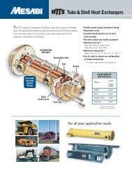 Tube & Shell Heat Exchangers - L&M Radiator Inc.