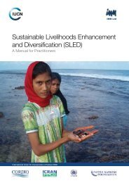Sustainable Livelihoods Enhancement and Diversification (SLED)