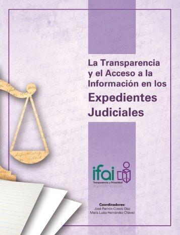 Transparencia y Acceso a la Información en los Expedientes Judiciales