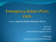 Emergency Action Plans EAPs