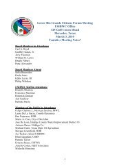 Lower Rio Grande Citizens Forum Meeting USIBWC Office 325 Golf ...