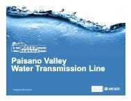 Paisano Valley Water Transmission Line - International Boundary ...