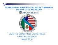 Lower Rio Grande Flood Control Project Levee Improvements ...
