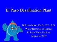 El Paso Desalination Plant
