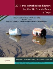 2011 Basin Highlights Report - International Boundary and Water ...