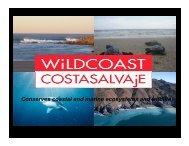 Conserves coastal and marine ecosystems and wildlife