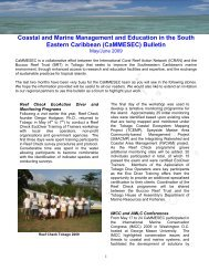 (CaMMESEC) Bulletin - International Coral Reef Action Network