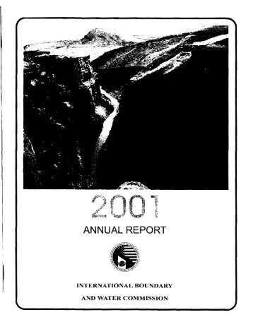 2001 - International Boundary and Water Commission