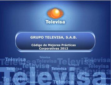 GRUPO TELEVISA, S.A.B. - Esmas
