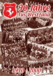 Geschichtlicher Rückblick auf die Jahre 1910 - TuS Westfalia Uffeln