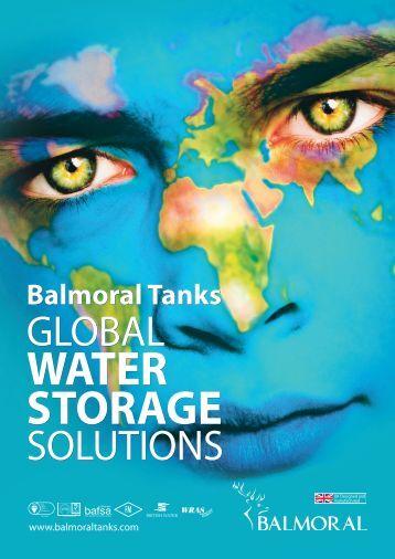 water storage tank - Balmoral Group