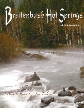 A Place to Bring Life Into Balance - Breitenbush Hot Springs