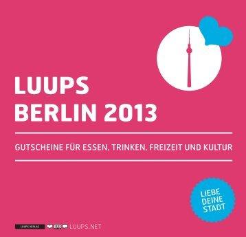 LUUPS BERLIN 2013