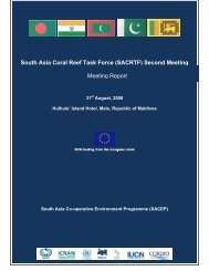 Report 2nd SACRTF Meeting - International Coral Reef Action ...
